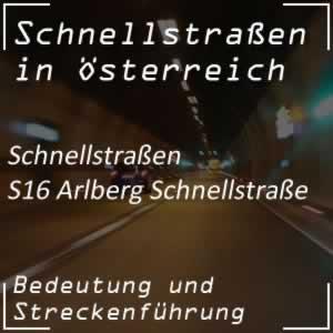Arlberg Schnellstraße von Zams nach Bludenz