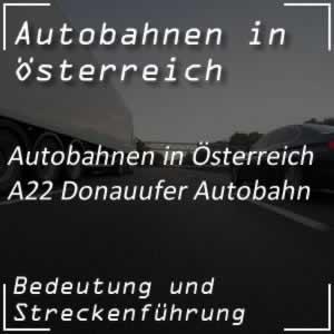 Donauufer Autobahn von Wien-Simmering bis Stockerau