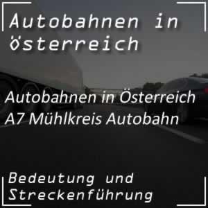 Mühlkreis Autobahn A7 in Oberösterreich