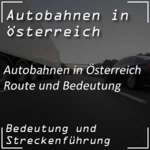 Autobahnen Österreich