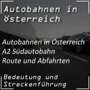 Südautobahn Route