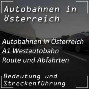 A1 Westautobahn Route