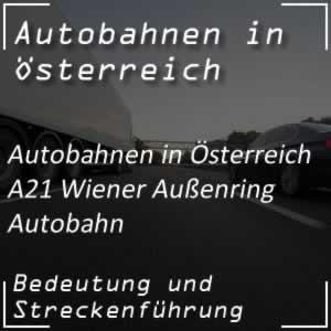 Wiener Außenring Autobahn