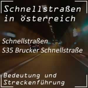 Brucker Schnellstraße von Bruck/Mur nach Peggau