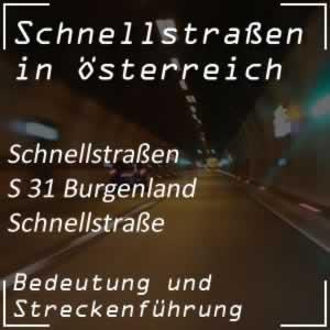 Burgenland Schnellstraße von Eisenstadt bis Oberpullendorf