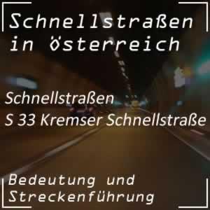 Kremser Schnellstraße von Sankt Pölten bis Jettsdorf