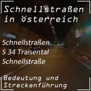 Traisental Schnellstraße von St. Pölten bis Wilhelmsburg
