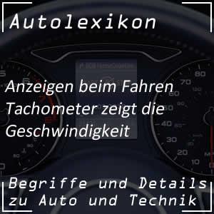 Tachometer oder auch Tacho