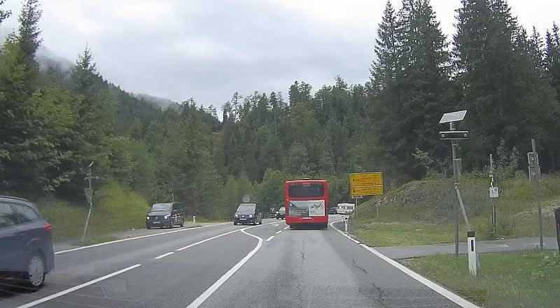 Achenpass Grenze Österreich Deutschland