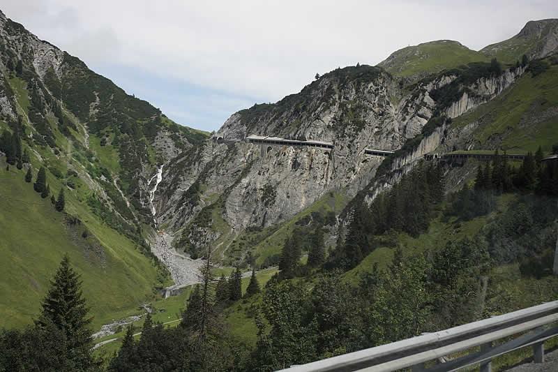Flexenpass beim Arlbergpass Vorarlberg