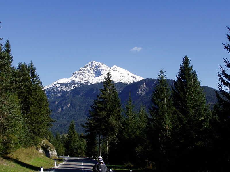 Bergstraße Gaichtpass in Tirol