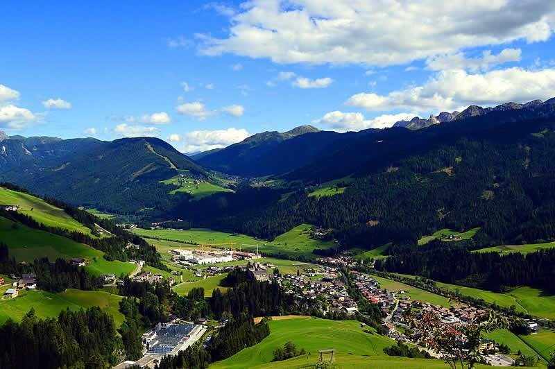 Bergstraße Kartitscher Sattel in Osttirol