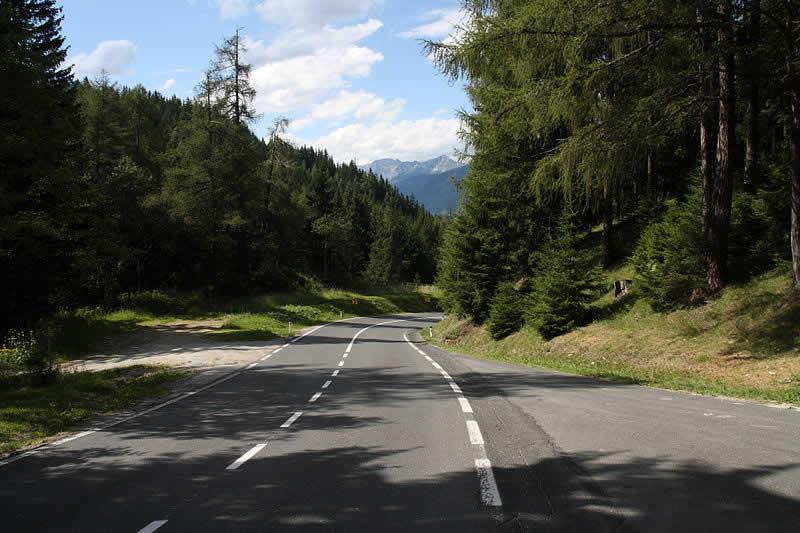 Bergstraße Katschberg oder Katschbergpass