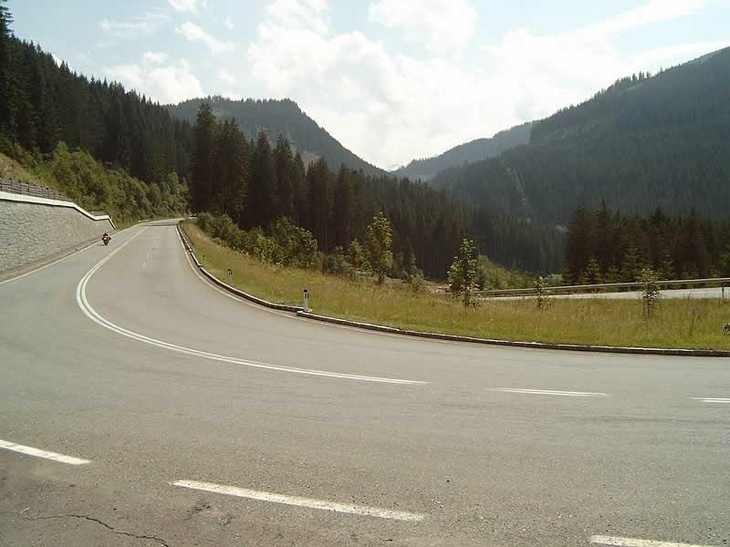 Bergstraße Pass Thurn bei Mittersill