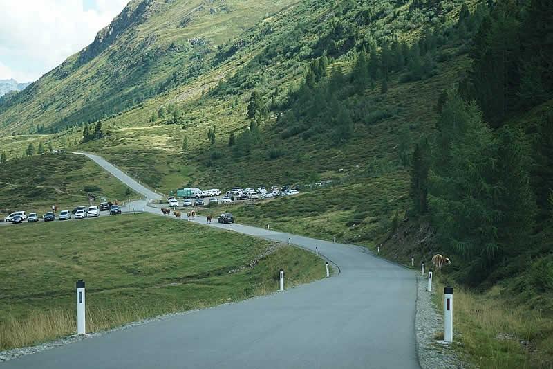 Bergstraße Staller Sattel vom Antholz nach Osttirol