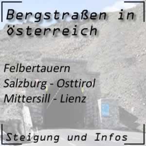 Bergstraße Felberntauern Salzburg - Osttirol