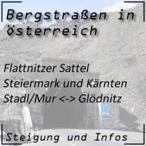 Bergstraße Flattnitzer Sattel Steiermark und Kärnten