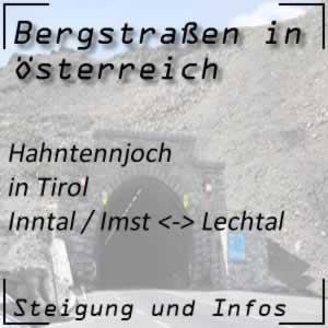 Bergstraße Hahntennjoch in Tirol