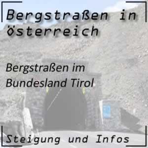 Bergstraßen in Tirol