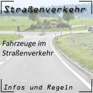 Fahrzeuge im Straßenverkehr