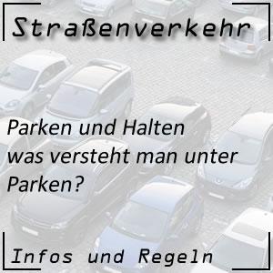 Parken im Straßenverkehr
