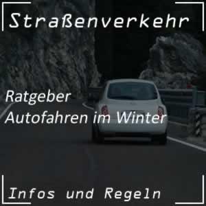 Ratgeber Autofahren im Winter