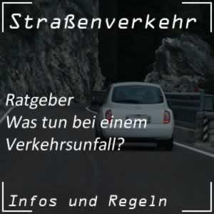 Verkehrsunfall - was tun?