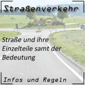 Straße im Straßenverkehr