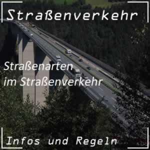 Straßenarten im Straßenverkehr