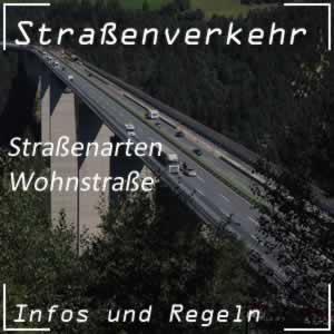 Straßenarten Wohnstraße