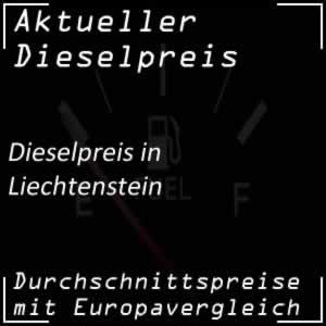 Dieselpreis Liechtenstein