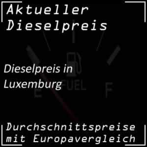 Dieselpreis Luxemburg