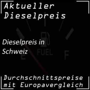 Dieselpreis Schweiz Preisvergleich mit Europa