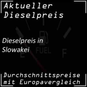 Dieselpreis Slowakei
