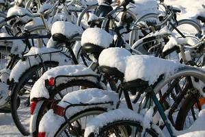 Tipps für das Radfahren im Winter