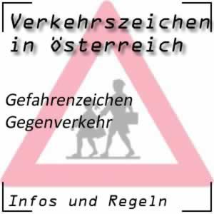 Verkehrszeichen Gegenverkehr