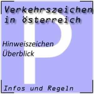Hinweiszeichen in Österreich