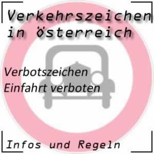 Verkehrszeichen Einfahrt verboten