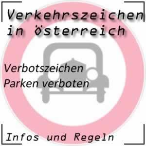 Verkehrszeichen Parken verboten