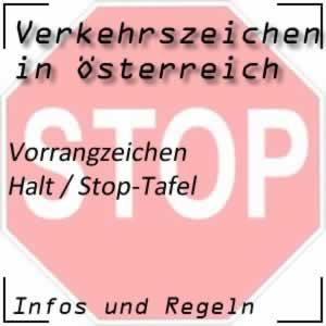 Verkehrszeichen Halt (Stop-Tafel)