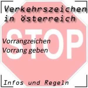 Verkehrszeichen Vorrang geben