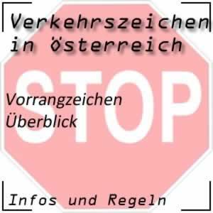 Verkehrszeichen Vorrangzeichen Österreich