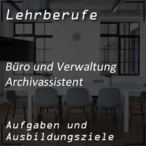 Ausbildung zum Archivassistenten