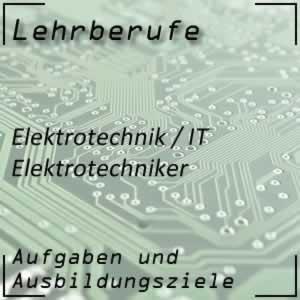 Ausbildung zum Elektrotechniker