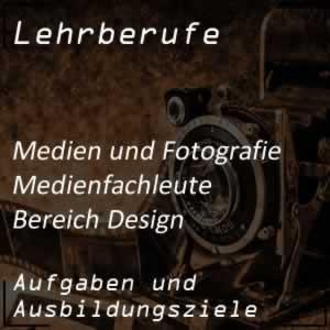 Ausbildung zum Medienfachmann Bereich Mediendesign