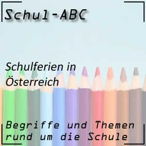 Schulferien in Österreich