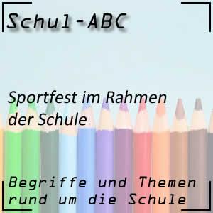 Sportfest der Schule