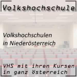 VHS in Niederösterreich