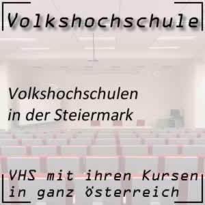 Volkshochschulen in der Steiermark