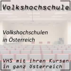 VHS oder Volkshochschulen in Österreich